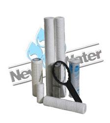 Filtri a cartuccia  New Water Srl - Impianti trattamento acque